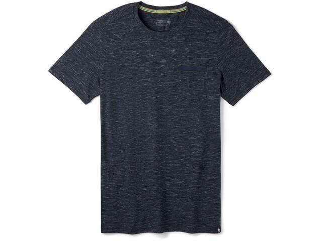 Smartwool Everyday Exploration Camiseta Bolsillo Hombre, deep navy heather